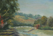 San Juan Paintings - San Juan Creek by Edward White