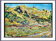 San Juan Paintings - San Juan Hills by Rich Flynn