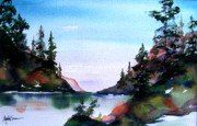 San Juan Paintings - San Juan Island by Marti Green