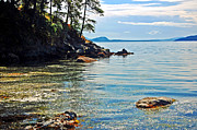 Randall Templeton Art - San Juan Islands by Randall Templeton