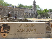 San Juan Drawings - San Juan Mission by Charles Pulley