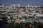San Juan Puerto Rico. Modern Buildings Print by Everett