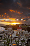 Puerto Rico Photo Prints - San Juan Sunrise Print by Brian Jannsen