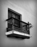Weathered Shutters Framed Prints - San Juan Window 2 Framed Print by Perry Webster