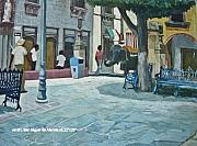 Jim Innes Art - San Miguel de Allende by Jim Innes