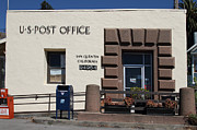 Larkspur Posters - San Quentin Post Office in California - 7D18549 Poster by Wingsdomain Art and Photography