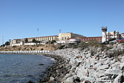 Prisons Prints - San Quentin State Prison in California - 5D18454 Print by Wingsdomain Art and Photography