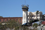 San Rafael California Posters - San Quentin State Prison in California - 7D18542 Poster by Wingsdomain Art and Photography