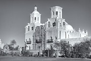 Register Framed Prints - San Xavier del Bac Mission V Framed Print by Clarence Holmes