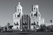 Register Framed Prints - San Xavier del Bac Mission VI Framed Print by Clarence Holmes
