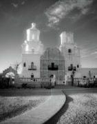 Tucson Originals - San Xavier Mission by Jim Harris