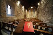 Scripture Reading Prints - Sanctuary Northumberland, England Print by John Short