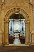 Religious Art Photo Metal Prints - Sanctuary of La Basílica de la Virgen de la Soledad Metal Print by Jeremy Woodhouse