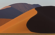 Namib Naukluft National Park Framed Prints - Sand Dunes, Namib Naukluft Park, Namibia Framed Print by Werner Van Steen