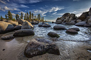 Sand Harbor Prints - Sand Harbor II Print by Rick Berk