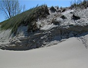 Indiana Dunes Photos - Sand Ripples 3 by Cedric Hampton