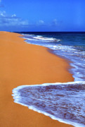 Puerto Rico Prints - Sand Sea Sky Print by Thomas R Fletcher
