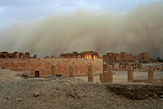 Palmyra Photos - Sand Storm Engulfing Palmyra by Joe & Clair Carnegie / Libyan Soup