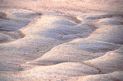 Riverbed Prints - Sand Waves Print by John Foxx