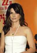 Sandra Bullock Posters - Sandra Bullock At Arrivals For American Poster by Everett