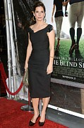 The Blind Side Premiere Posters - Sandra Bullock At Arrivals For The Poster by Everett