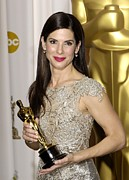 Sandra Bullock Framed Prints - Sandra Bullock, Best Performance By An Framed Print by Everett