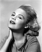Publicity Shot Framed Prints - Sandra Dee, Age 15, 1957 Framed Print by Everett