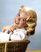 1950s Portraits Photo Metal Prints - Sandra Dee, Ca. 1950s Metal Print by Everett