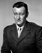 1949 Movies Prints - Sands Of Iwo Jima, John Wayne, 1949 Print by Everett