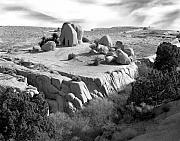 Signed Photo Prints - Sandstone Plateau Print by Christian Slanec