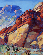 Quarry Paintings - Sandstone Quarry by Erin Hanson
