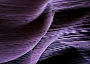 Antelope Canyon Photo Acrylic Prints - Sandstone Symphony Acrylic Print by Mike  Dawson