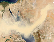 Sandstorm Prints - Sandstorm Print by NASA / Science Source