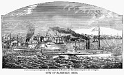 American City Prints - Sandusky, Ohio, 1858 Print by Granger