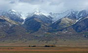 Luis Photos - Sangre de Cristo First Snow by Merja Waters