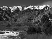 Pauls Colorado Photography Prints - Sangre De Cristos Print by Paul Gana