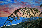 Nflavin Paintings - Sanibel Dunes by Nick Flavin