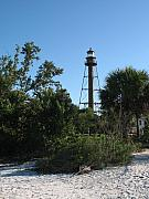 Forida Prints - Sanibel Lighthouse Print by Christiane Schulze