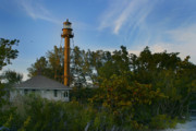 Sanibel Posters - Sanibel Lighthouse Poster by Joseph G Holland