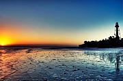 Sanibel Island Prints - Sanibel Sunrise Print by Rich Leighton