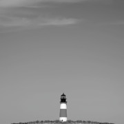 Nantucket Island Posters - Sankaty Head Lighthouse Nantucket Poster by Charles Harden