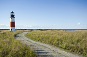 Massachusetts Art - Sankaty Head Lighthouse, Nantucket by Jack Flash