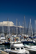 Gary Brandes Photo Acrylic Prints - Santa Barbara Harbor Acrylic Print by Gary Brandes