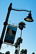 Gary Brandes Photo Acrylic Prints - Santa Barbara Harbor light Acrylic Print by Gary Brandes