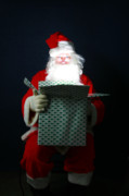 Magic Hat Photos - Santa Claus has Christmas Magic for all by Michael Ledray