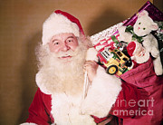 Santa Claus Posters - Santa Claus Poster by Photo Researchers, Inc.
