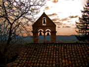 Trio Photos - Santa Croce Bells by Al Bourassa