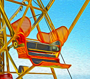 Gregory Dyer - Santa Cruz Boardwalk - Ferris Wheel - 02
