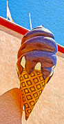 Gregory Dyer - Santa Cruz Boardwalk - Giant Ice Cream Cone