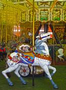 Gregory Dyer - Santa Cruz Boardwalk Carousel Horse